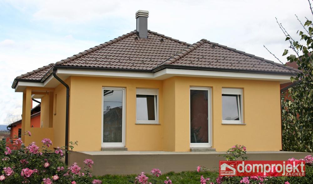 Niskoenergetska prizemna kuća Nataly | Domprojekt Zagreb